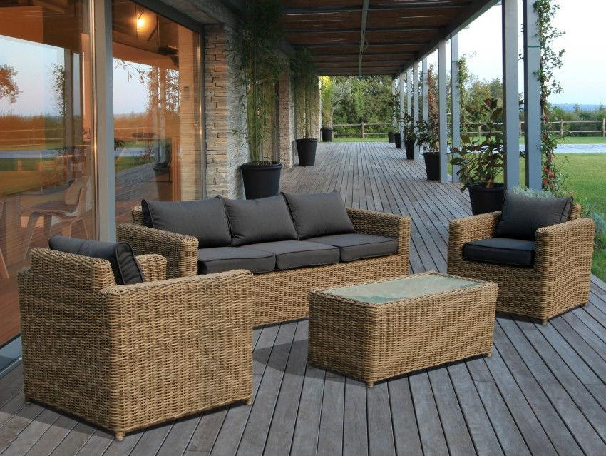 Gs 067 Rattan Sofa Anji Great Furniture Co Ltd